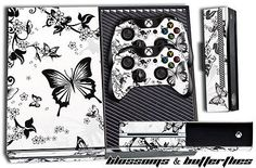 Designer Skin for XBOX ONE 1 Gaming Console +2 Controller Sticker Decals BLOSSOM