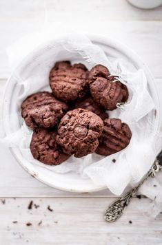 Biscotti vegani doppio cioccolato