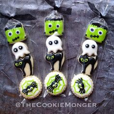 Top 17 Frankenstein Cookies Designs For Halloween – Cheap Easy Party Snack Food - Easy Idea (18)
