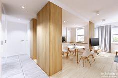 Konwaliowa   Turka: styl , w kategorii Korytarz, przedpokój zaprojektowany przez H+ Architektura Divider, Room, Furniture, Home Decor, Bedroom, Decoration Home, Room Decor, Rooms, Home Furnishings