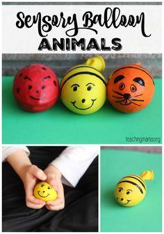 Toddler Tuesday: Sensory Balloon Bugs