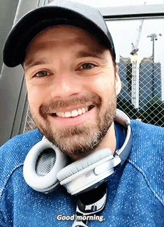 """Sebastian ✪ Stan in NYC 05/18/18 """"Good Morning"""" Yes it was thank you!"""