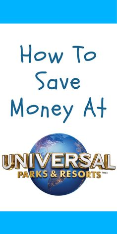 How To Save Money At Universal Orlando Resort Universal Studios Resort is a must visit destination in Orlando, Florida. However, for many families it can be an expensive one. Which is why I've put together this guide on how you can save money at Universal Studios Resort, Orlando…
