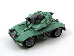 Dutspätz II - Mobile Field Forward Destroyer #LEGO