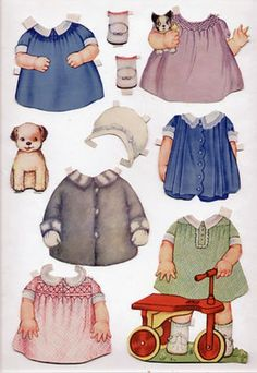 Vintage Whitman #920 BABY SISTER paper dolls 1929 cut /QUEEN HOLDEN (05/27/2013)