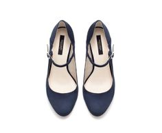 adorable blue mary janes. need!