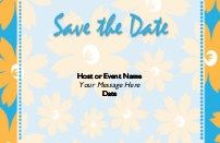 100 Save the Dates £4.95