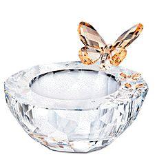 Swarovski Crystal Butterfly Tea Light Figurine Retired   eBay