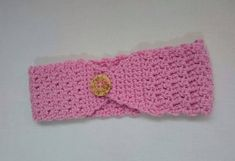 Pink Wool Headband P