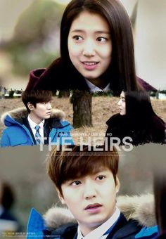Perfect couple. The heirs