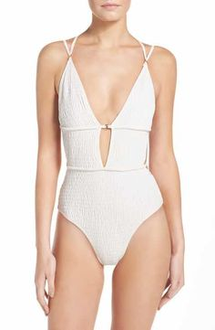 352f69b630432 For Love & Lemons One-Piece Swimisuit Swimsuit Shops, Beach Outfits, Edgy  Outfits