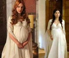Magnificent Heritage - White maternity (under) dress