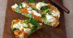 sweet potato frittata #nationalvegetarianweek