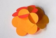 How About Orange: How to make paper ball ornaments Flower Ornaments, Paper Ornaments, Ornament Crafts, Ball Ornaments, 3d Paper, Paper Crafts, Diy Crafts, Creative Studio, Origami