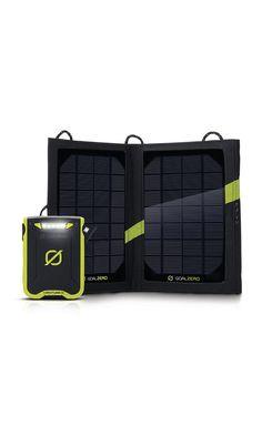 GoalZero Venture 30 Solar Recharging Kit