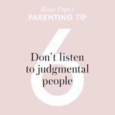 #parentingtips from Rosie Pope