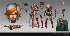Beast Hunter Katarina by AngellMoonlight