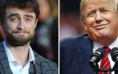 Daniel Radcliffe paragona Donald Trump a Voldemort L'attore inglese Daniel Radcliffe, noto ai più per l'interpretazione del personaggio di Harry Potter nei film dell'omonima saga, paragona il candidato repubblicano alla Casa Bianca, Donald Trump, al  #harrypotter #danielradcliffe #trump