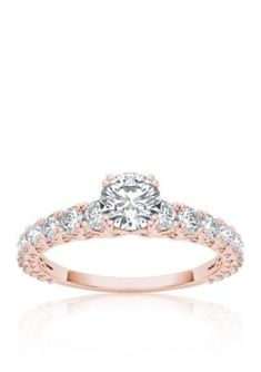 Belk  Co.  1 ct. t.w. Diamond Engagement Ring in 14k Rose Gold
