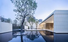 Gallery of Wuhan Financial City No.1 Courtyard Life Experience Center / gad - 1