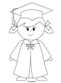Kindergarten Graduate Girl Kindergarten Graduation Graduation