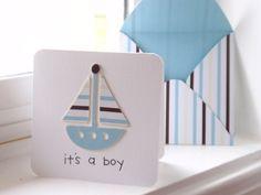 It's a boy enclosure card - bjl