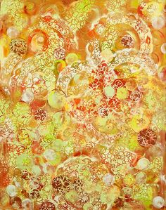 Overlay - 2012 - Cathy Drennan  I love the brilliance and flow of the color