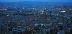 Panaromic View of the City from Atakule - Ankara - Turkey