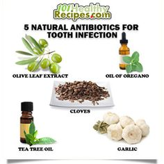 5 Natural Antibiotics for Tooth Infection