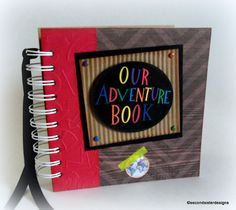 OUR ADVENTURE BOOK Brand New Disney by secondsisterdesigns
