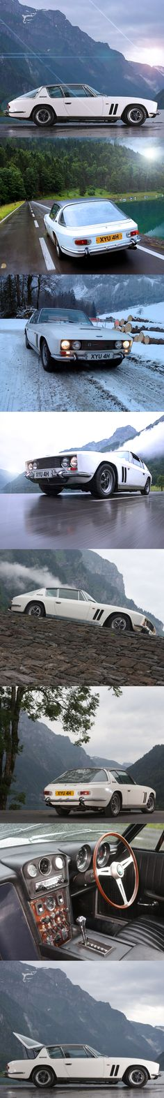 1968 Jensen FF Interceptor / Ferguson 4wd / UK Italy / 6.3l V8 / Touring / white / 17-361