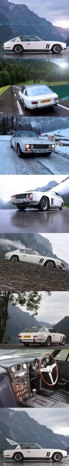 1968 Jensen FF Interceptor / Ferguson 4wd / UK Italy / 6.3l V8 / Touring / white / 17-361