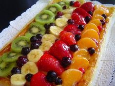 My Recipes, Sweet Recipes, Cake Recipes, Cooking Recipes, Delicious Deserts, Yummy Food, Fruit Buffet, Mexican Bread, Tasty Videos