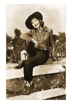 vintage cowgirl! Girl nursery decorating