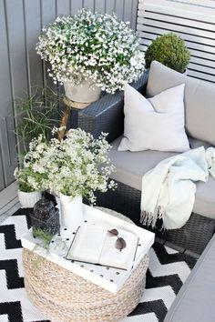 tip de decoracion wolfrik: tapetes en el balcon