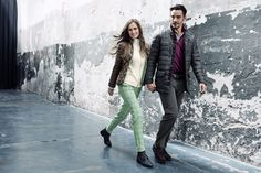 Chervò - Man and woman golf outfit: get inspired on chervo.com!