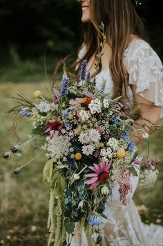Must-See Washington Festival Wedding ~ Fire and Blooms herbal, wildflower bridal. - Must-See Washington Festival Wedding ~ Fire and Blooms herbal, wildflower bridal bouquet Source by - Wildflower Bridal Bouquets, Bride Bouquets, Bridal Flowers, Flower Bouquet Wedding, Floral Wedding, Fall Wedding, Wild Flower Wedding, Flower Bouquets, Purple Bouquets