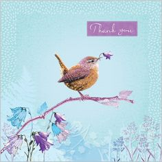 Everyday Ranges » M0629 » Thank You - Jenny Wren - Clare Maddicott Publications - Greeting cards, gift wrap & stationery Grateful, Thankful, Thank You Messages, Birthday Wishes, Moose Art, Stationery, Greeting Cards, Easy Cards, Gift Wrapping