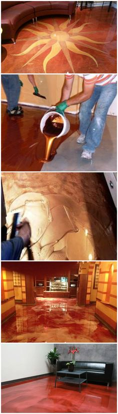 How To Create Stunning Metallic Epoxy Floors