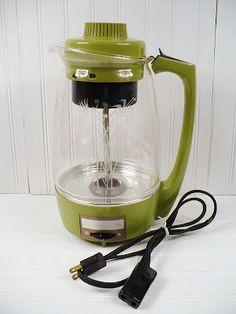 Proctor Silex Avocado Coffee Pot