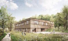 Murr Architekten City Farm, Planer, Eye Candy, Photoshop, Exterior, Cabin, Landscape, Architecture, House Styles
