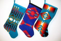 Pendleton stockings—swoon!