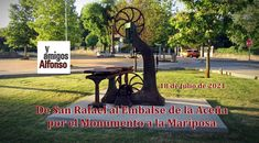 #AlfonsoyAmigos San Rafael, Outdoor Furniture, Outdoor Decor, Park, Home Decor, Levitate, Portable Stove, Trekking, Paths