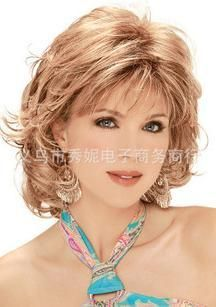 Ladies Upscale Foreign Trade Fashion Wigs