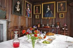 The Dining Room    Canon Ashby, Northamptonshire
