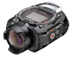 Ricoh WG-M1 is a waterproof camera that allows you to record your water-based activities, its air-tight waterproof construction makes it possible to shoot underwater at a depth of 33 feet for an hour.