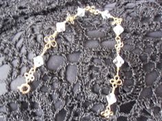 vintage crystal bracelet, simply-exquisite-jewels.co.uk