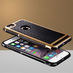 Ultra Thin Shockproof Rubber PC and TPU Hybrid Phone