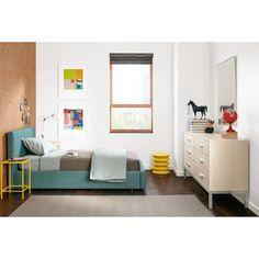 Wyatt Storage Bed with Alden Dresser - Modern Kids Furniture - Room & Board Room Furniture, Modern Kids Furniture, Ottoman In Living Room, Furniture, Home, Bedroom Bedding Sets, Home Decor, End Tables, Room