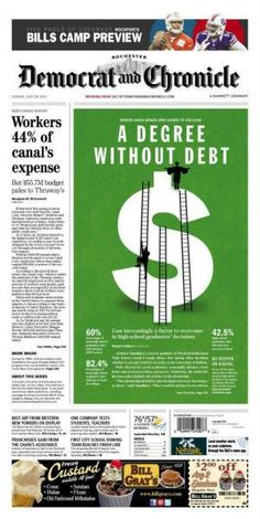 A degree without debt, Democrat and Chronicle, by Abby Westcott